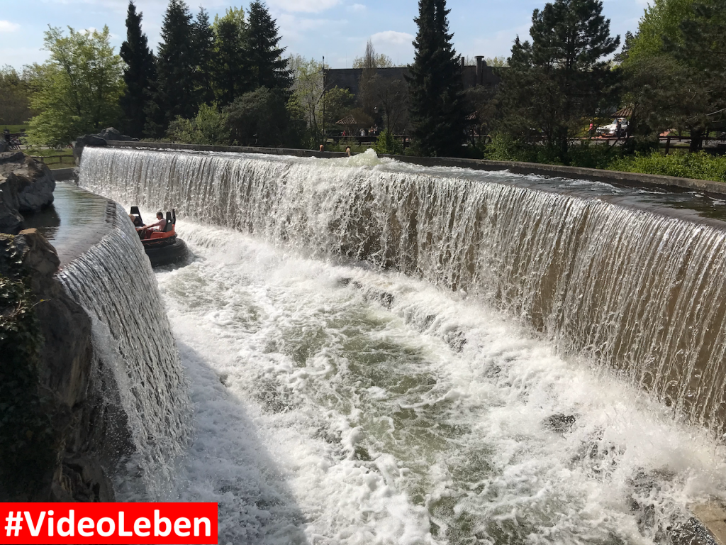 Mountain-Rafting im - Heide-Park Resort Soltau #Videoleben