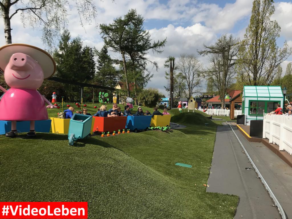 Opa Pigs Zugfahrt - Heide-Park Resort Soltau #Videoleben
