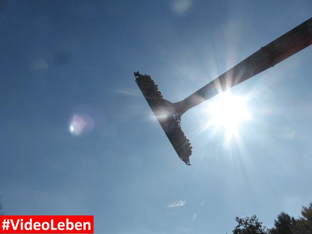 Riesenpendel Sledge Hammer Bobbejaanland Belgien #Videoleben
