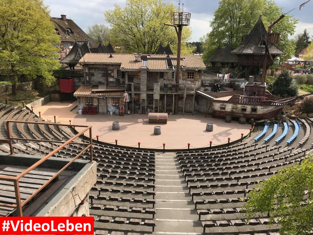 Showbühne - Heide-Park Resort Soltau #Videoleben