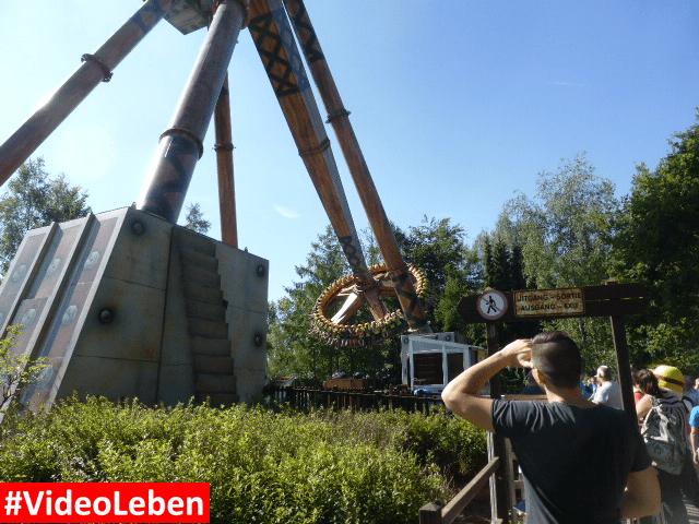 Sledge Hammer Bobbejaanland Belgien #Videoleben