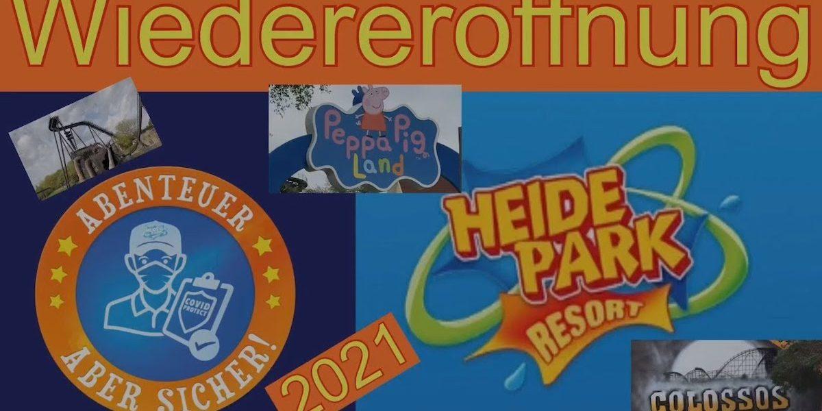 Wiedereröffnung Heide-Park Resort Soltau #Videoleben