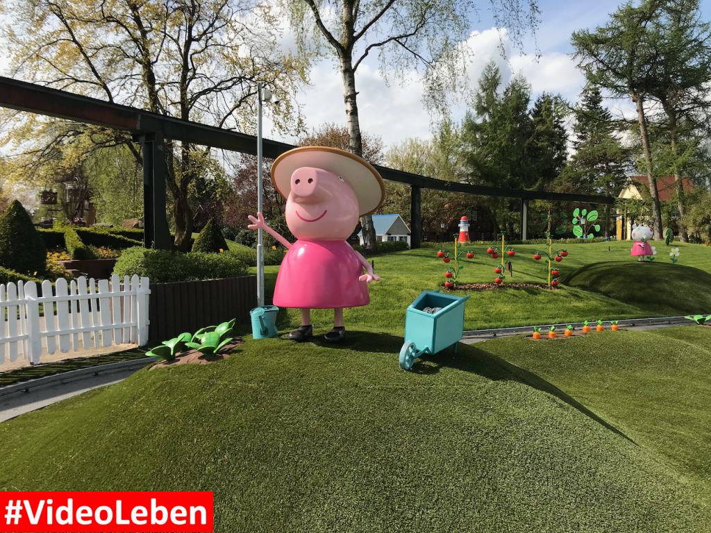 im Peppa Pig Land - Heide-Park Resort Soltau #Videoleben