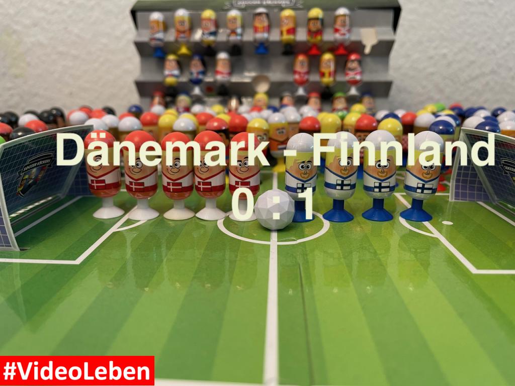 Dänemark 0 Finnland 1 EURO 2020 Orakel - Soccer Kickers-Orakel - EURO 2020 - Kaufland Soccer Kickers #Videoleben