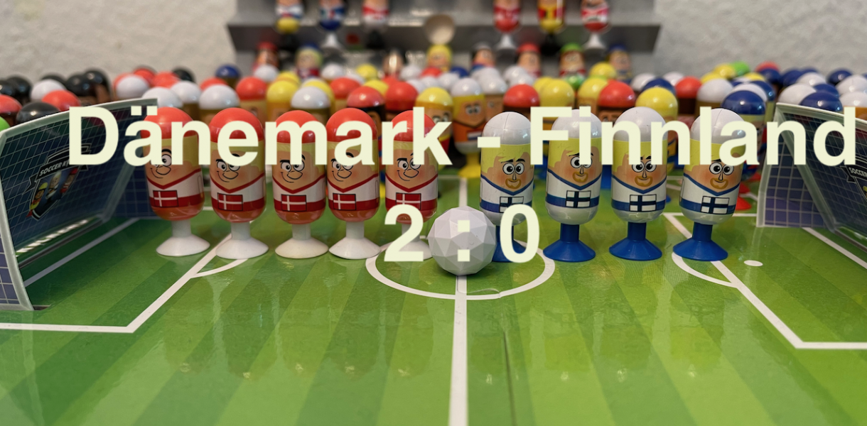 Dänemark 2 Finnland 0 EURO 2020 Orakel - Soccer Kickers-Orakel - EURO 2020 - Kaufland Soccer Kickers #Videoleben