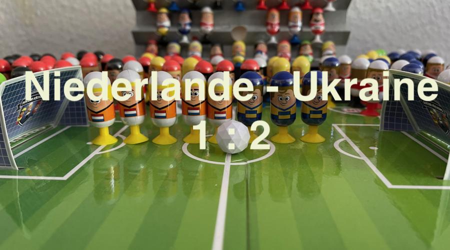 Niederlande 1 Ukraine 2 EURO 2020 Orakel - Soccer Kickers-Orakel - EURO 2020 - Kaufland Soccer Kickers #Videoleben