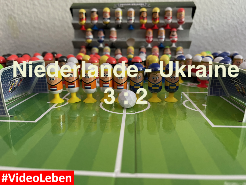 Niederlande 3 Ukraine 2 EURO 2020 Orakel - Soccer Kickers-Orakel - EURO 2020 - Kaufland Soccer Kickers #Videoleben