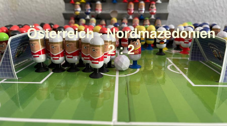 Österreich 2 Nordmazedonien 2 EURO 2020 Orakel - Soccer Kickers-Orakel - EURO 2020 - Kaufland Soccer Kickers #Videoleben