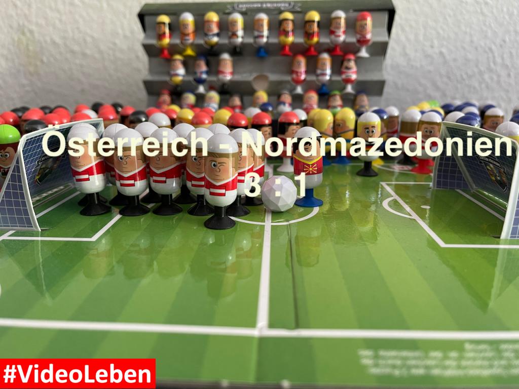Österreich 3 Nordmazedonien 1 EURO 2020 Orakel - Soccer Kickers-Orakel - EURO 2020 - Kaufland Soccer Kickers #Videoleben