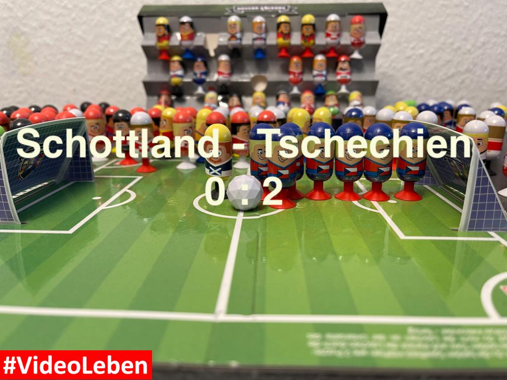 Schottland 0 Tschechien 2 EURO 2020 Orakel - Soccer Kickers-Orakel - EURO 2020 - Kaufland Soccer Kickers #Videoleben