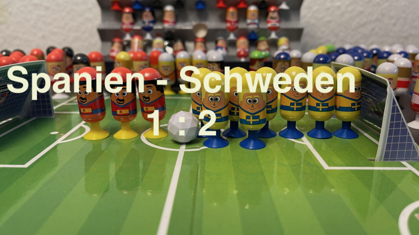 Spanien 1 Schweden 2 EURO 2020 Orakel - Soccer Kickers-Orakel - EURO 2020 - Kaufland Soccer Kickers #Videoleben