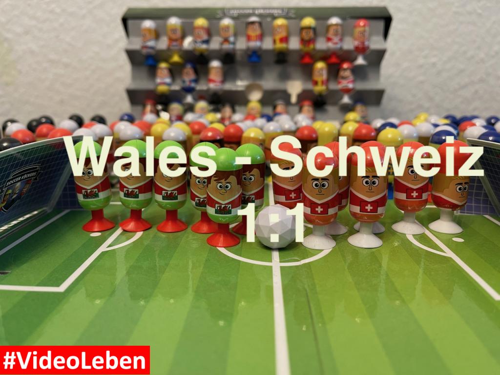Wales 0 Schweiz 0 - EURO 2020 - #Videoleben