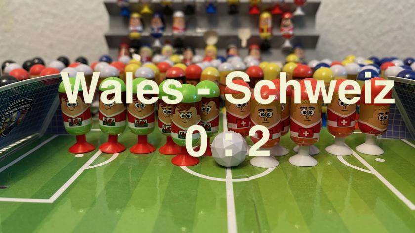 Wales 0 Schweiz 2 - EURO 2020 - #Videoleben
