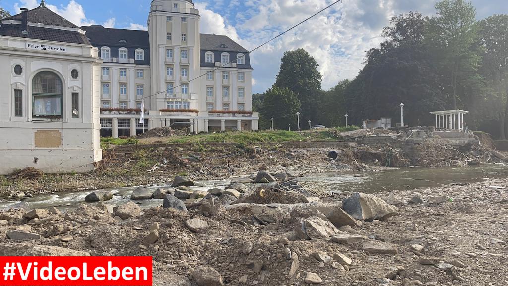Hochwasserkatastrophe im Ahrtal - 1 Monat nach dem Hochwasser bzw. der Flut - #videoleben
