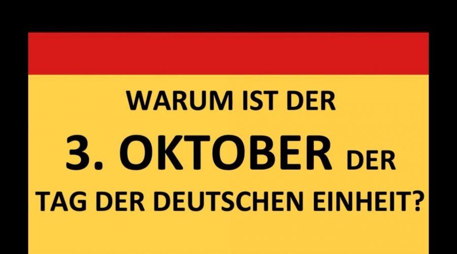3. Oktober - Tag der Deutschen Einheit #VideoLeben